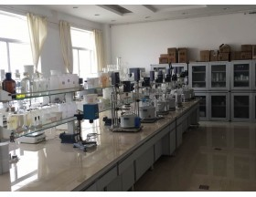 The lab of Xintu chemical factory