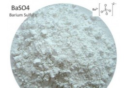 What are the benefits of using modified precipitated barium sulfate in the plastics industry?